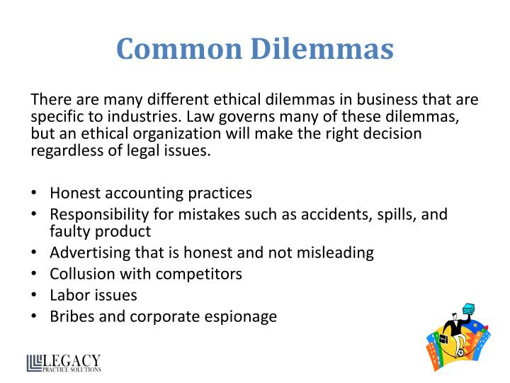 ethical business dilema