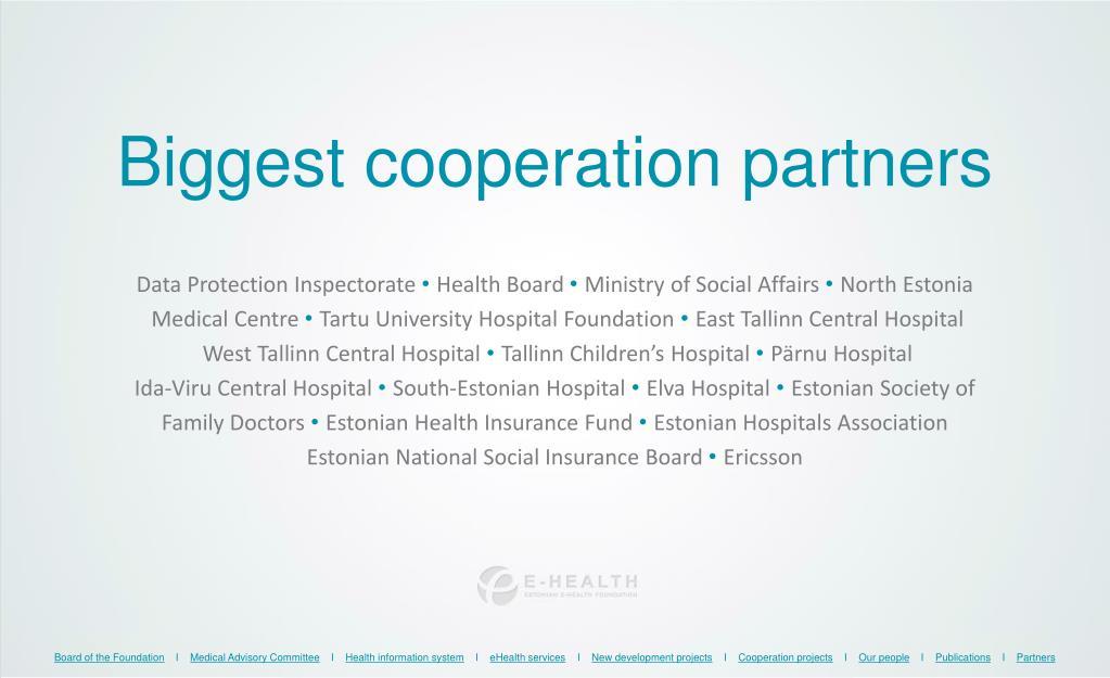 PPT - Estonian eHealth Foundation PowerPoint Presentation