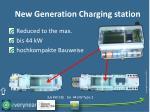 new generation charging station