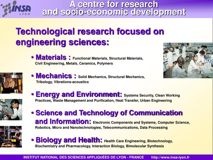 A centre for research