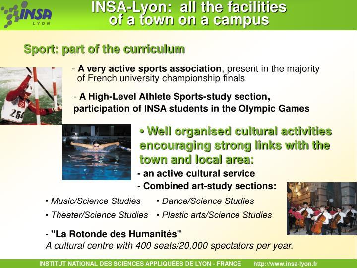 INSA-Lyon:  all the facilities