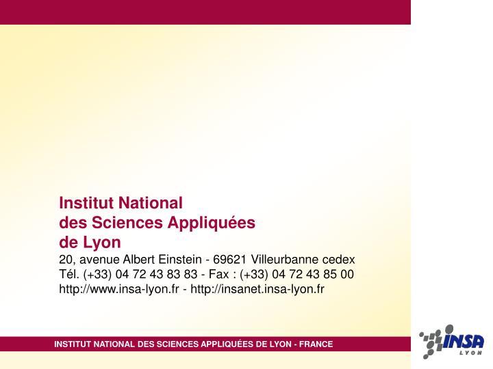Institut National