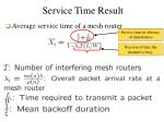 service time result