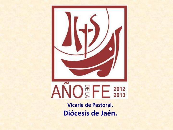 Vicaría de Pastoral.