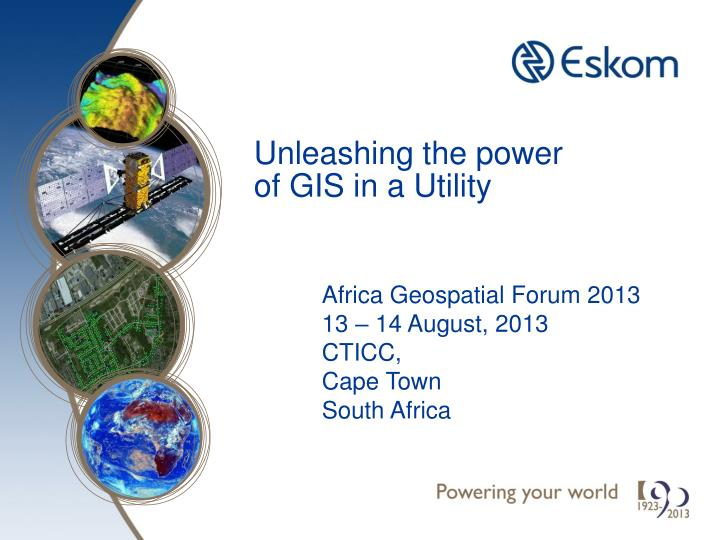 unleashing the power of gis in a utility n.