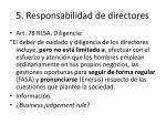 5 responsabilidad de directores