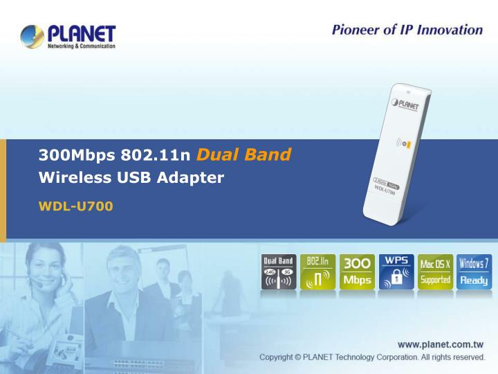 300mbps 802 11n dual band wireless usb adapter n.