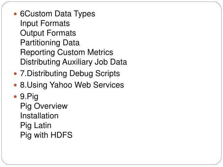 6Custom Data Types
