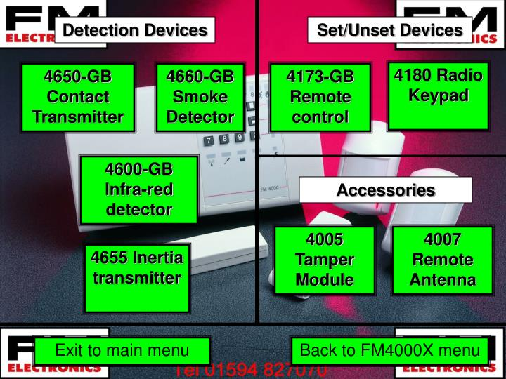 Detection Devices