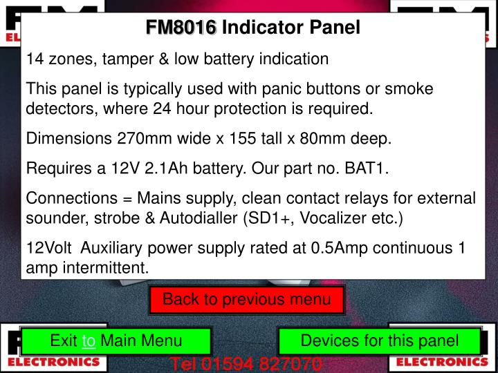 FM8016
