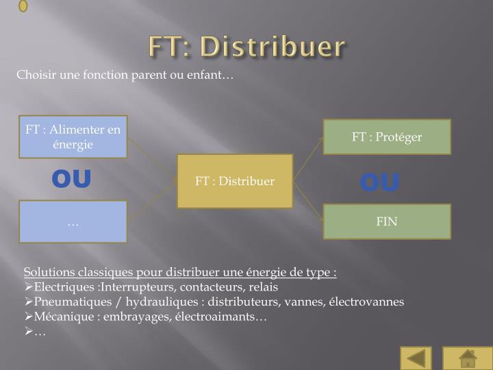 FT: Distribuer