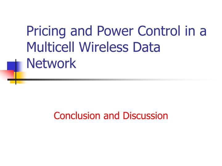 Pricing and Power Control in a Multicell Wireless Data Network