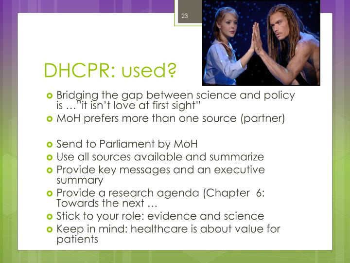 DHCPR: