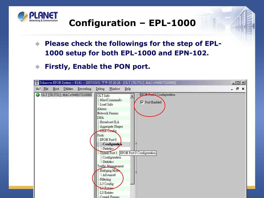 Olt Configuration Commands