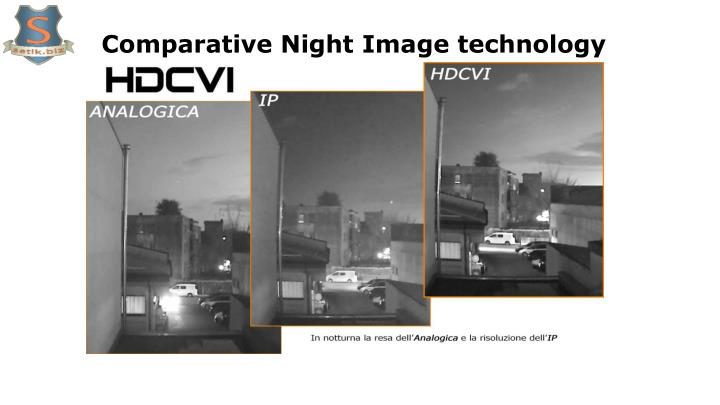 Comparative Night Image technology