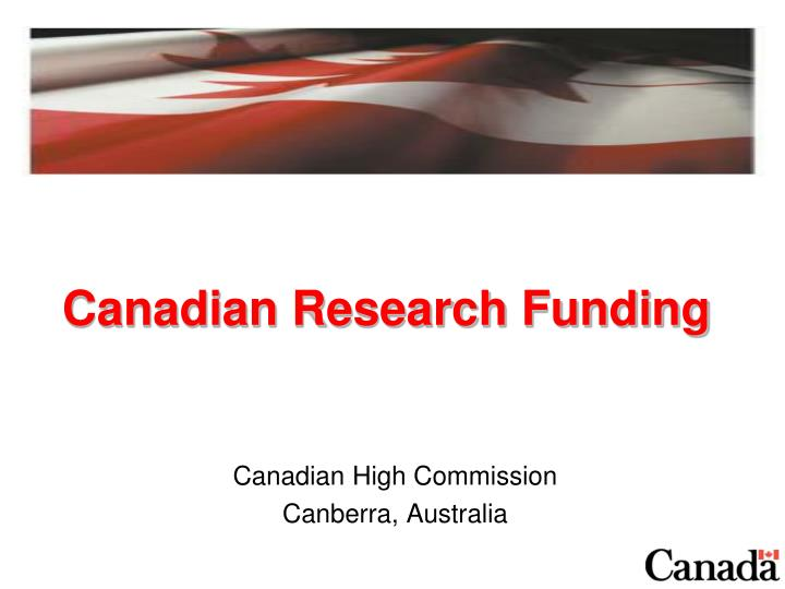 canadian research funding n.