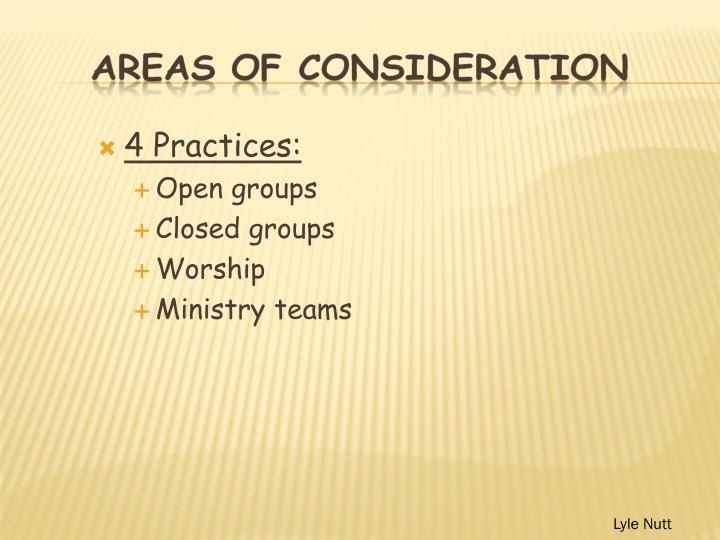 4 Practices: