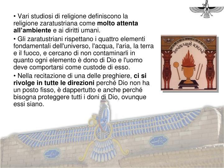 Vari studiosi di religione definiscono la religione