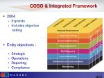 coso integrated framework