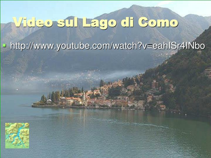 Video sul Lago di Como
