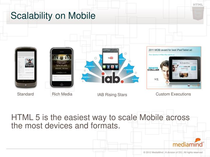 Scalability on mobile