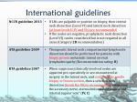 international guidelines1