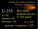 finding the number of protons neutrons and electrons3