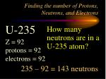 finding the number of protons neutrons and electrons4