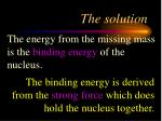 the solution3