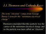 the term electron comes from george stoney s term for the minimum electrical charge