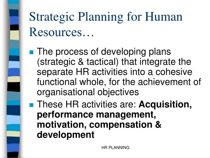 developing a strategic hr plan Developing interview home / hiring / best practices for hiring managers / planning a search / developing a recruitment plan human resources home hiring.