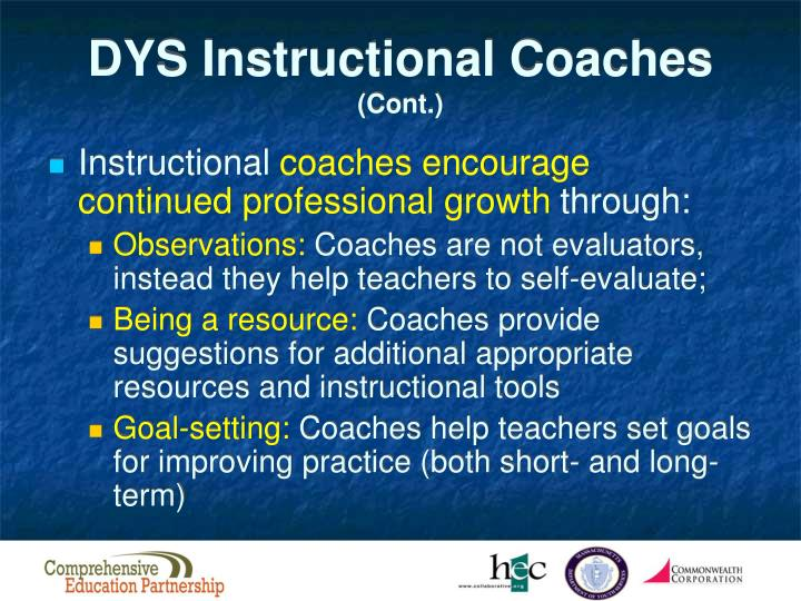 DYS Instructional Coaches
