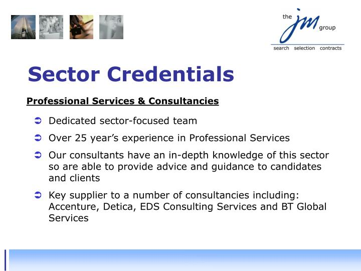 Sector Credentials