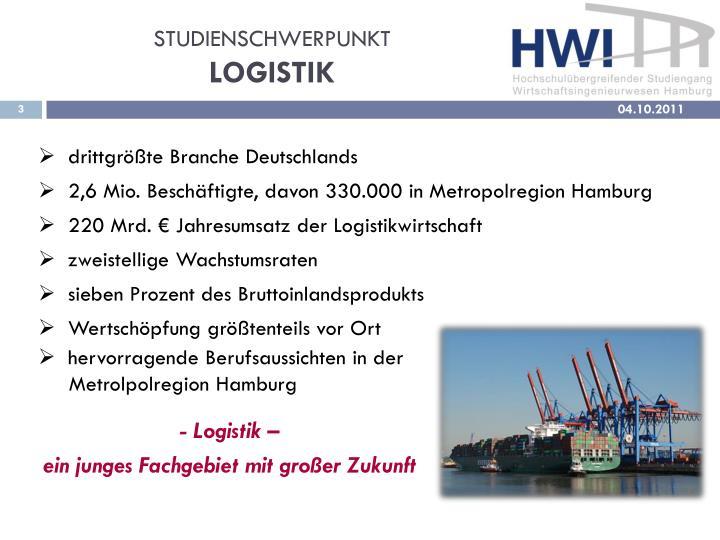 Studienschwerpunkt logistik2