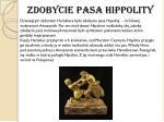 zdobycie pasa hippolity