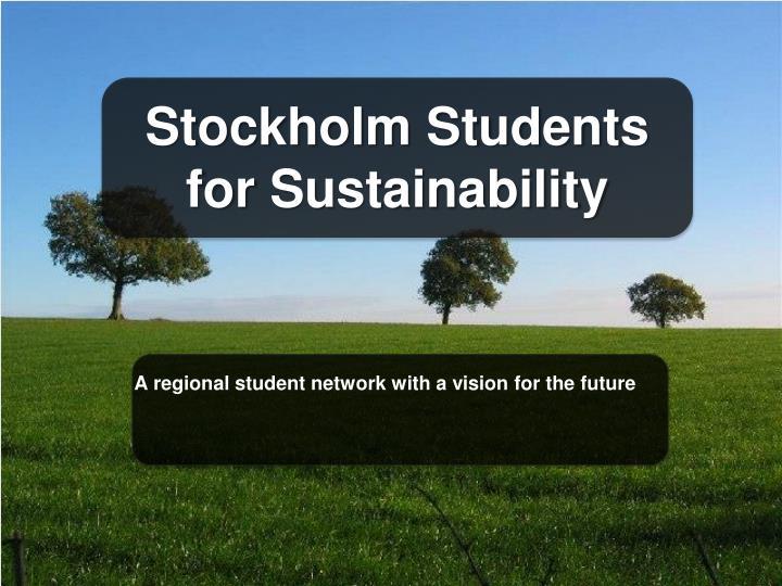 Stockholm Students for