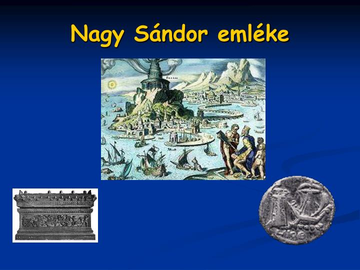 Nagy Sándor emléke