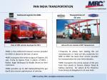 pan india transportation