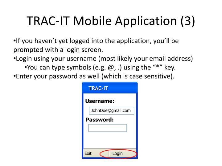TRAC-IT Mobile Application (3)