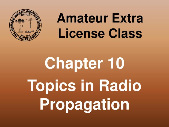 amateur extra license class n.