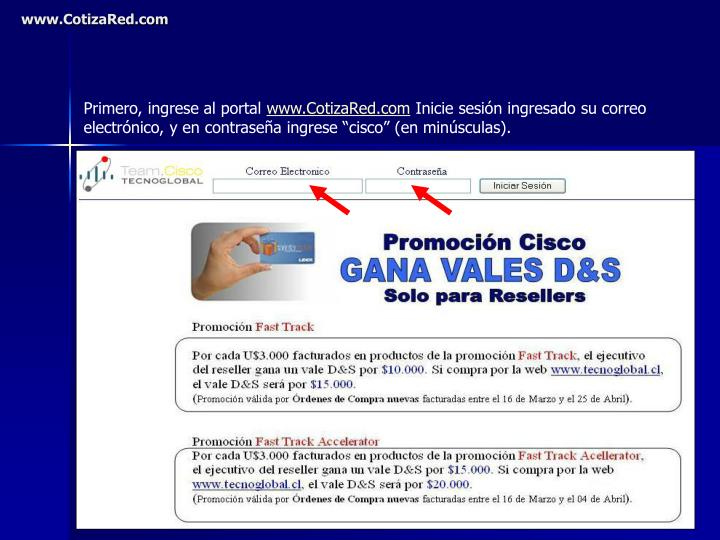 www cotizared com n.