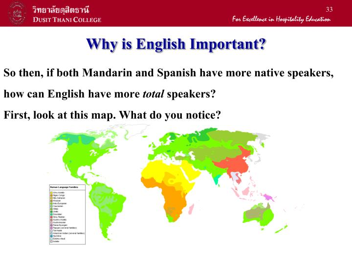 why english is important For parents new to an english there are a number of reasons why a person would want to learn english as a second language it is important to find a.