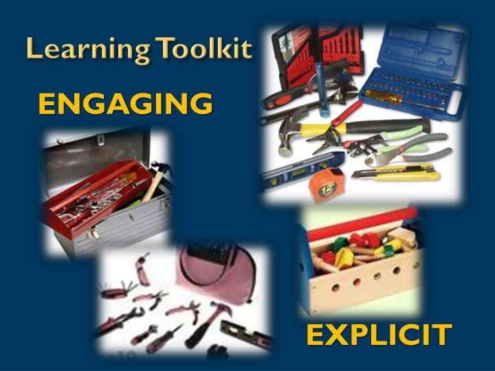Learning Toolkit