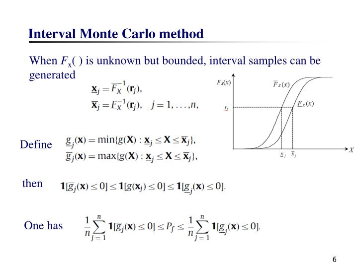Interval Monte Carlo method