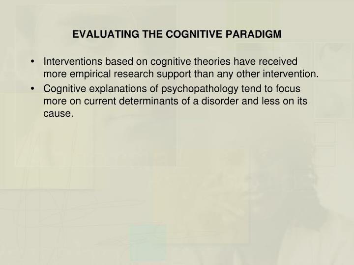 cognitive theory of psychopathology