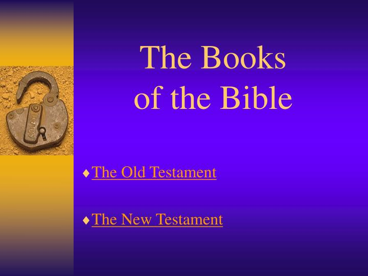 the books of the bible n.