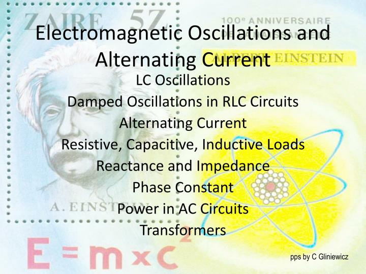 electromagnetic oscillations and alternating current n.