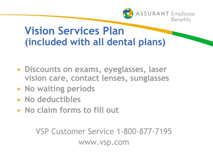 vsp customer service