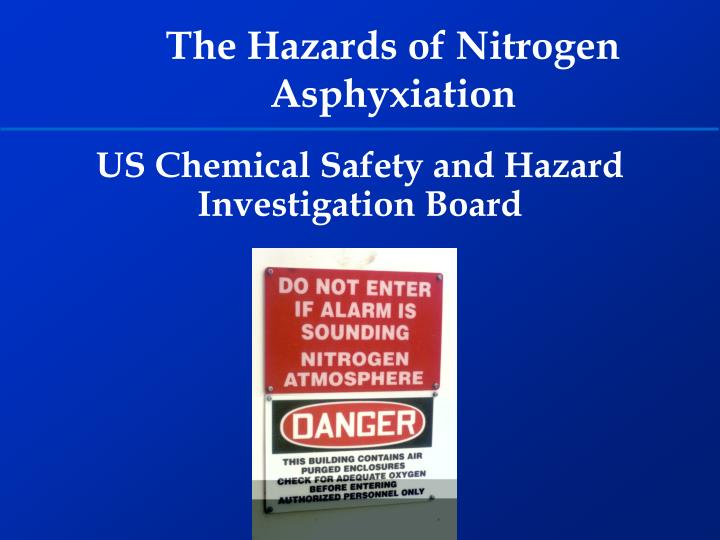 PPT - US Chemical Safety and Hazard Investigation Board PowerPoint