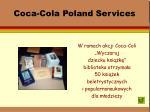 coca cola poland services